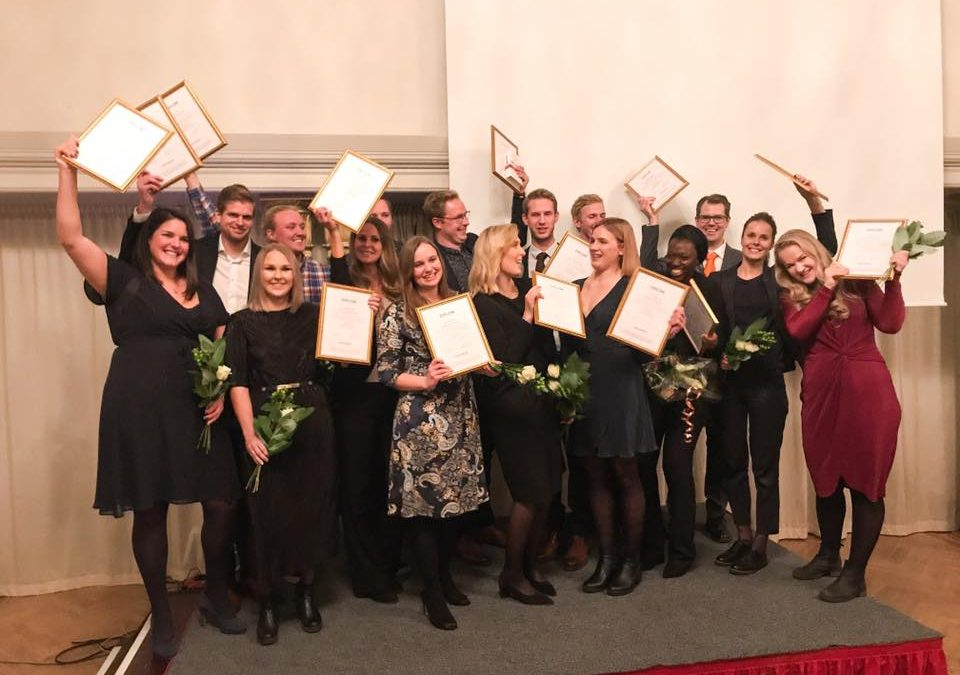 17 topptalanger i Higher Ambition Program diplomerades under högtidliga former