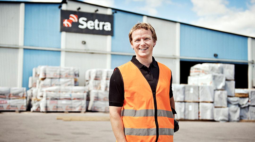 (OBS! TILLSATT) Setra Trävaror söker trainee inom bygglogistik och kundservice