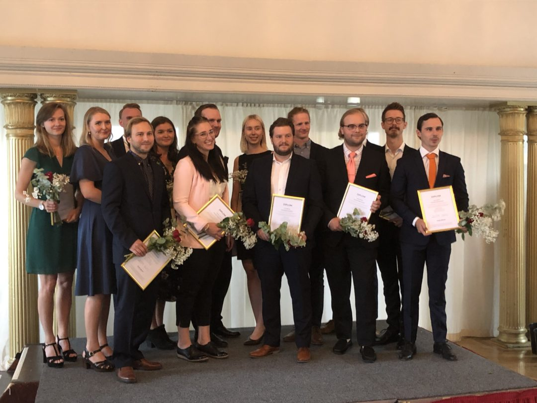 14 topptalanger i Higher Ambition Program diplomerades under högtidliga former